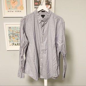 J. Crew Patterned Button-Down Shirt XL